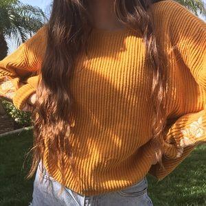 pacsun rose sweater